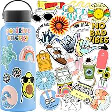 Amazon Com Vsco Stickers 35 Pack Water Bottle Stickers Hydroflask Stickers Waterproof Girls Aesthetic Stickers For Water Bottles Waterproof Stickers Hydro Flask Stickers For Teens Aesthetic Cute Stickers Computers Accessories