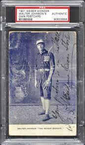 "Walter Johnson ""Weiser Wonder'' postcard from 1907 up for auction | Idaho  Statesman"
