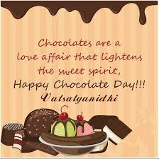 vatsalyanidhi chocolate day quotes for him here husband