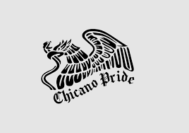 Chicano Pride Sticker Decal With Mexican Emblem Etsy In 2020 Chicano Mexican Flag Tattoos Pride Stickers