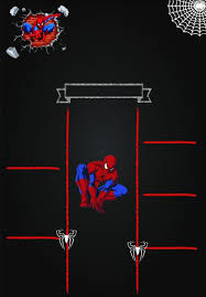 Cumple 3 Invitacion De Spiderman Invitaciones Hombre Arana