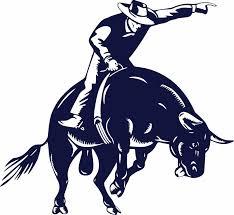 Cowboy Bull Riding Rodeo Horse Car Truck Window Wall Laptop Vinyl Decal Sticker Home Garden Decor Decals Stickers Vinyl Art