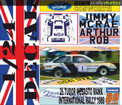 Ford Sierra Rs Cosworth D541 Uvw Gemini Decal Designers 3 540