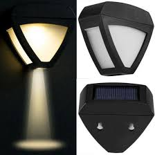 Shop Led Solar Powered Light Outdoor Garden Security Wall Fence Gutter Yard Lights Uk Online From Best Other Outdoor Games Accessories On Jd Com Global Site Joybuy Com