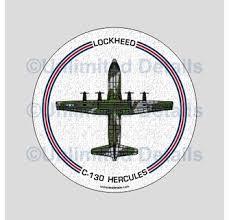 C 130 Hercules Decal