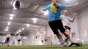 Cool Kicks - New facility opens today, offers two indoor soccer fields    Local News   journalnow.com