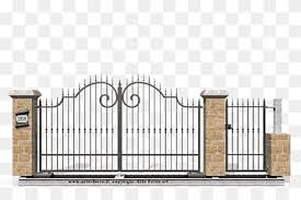 Gate Wrought Iron Fence Window Gate Fence Home Fencing Window Png Pngwing
