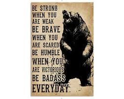 Be Strong When You Are Weak Etsy