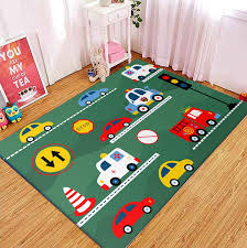 Cartoon Car Baby Play Mat Toys For Children S Mat Kids Room Area Rugs Developing Floor Mat Baby Room Crawling Non Slip Carpets Carpet Aliexpress