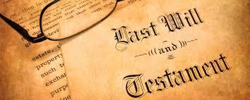 making your last will testament nj