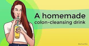 a homemade colon cleansing drink