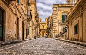 italy old town record palermo