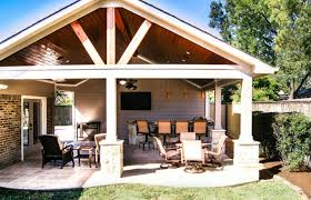 backyard patio covers elegant houston