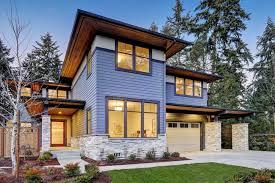 30 houses with a blue exterior photos
