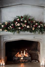 a vintage fireplace with candles