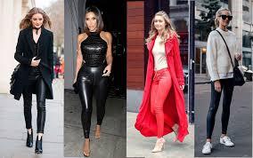 how to wear leather leggings luxury legs