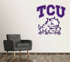 Tcu Horned Frogs Mascot Wall Decal Logo Ncaa College Decor Sticker Vinyl Sr170 Ebay