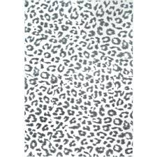 nuloom print leopard gray 8 ft x 10 ft