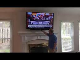 pull down tv wall mount you