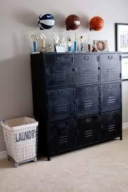 Basketballs Lockers Themed Kids Room Teenage Boy Room Teenage Room