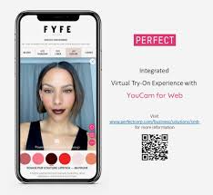 perfect launches of youcam for web ar