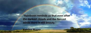 kata mutiara bahasa inggris tentang pelangi rainbow