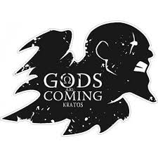 God Of War Gods Are Coming Sticker