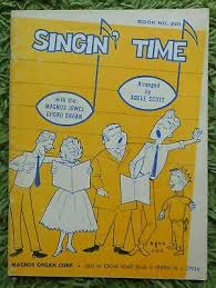 Singin' Time - Magnus Jewel Chord Organ: 21 Songs Arr. Adele Scott 1960  No.201 | eBay