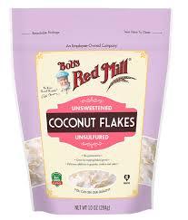 coconut flakes unsulfured unsweetened