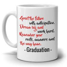 inspirational college graduation quotes gift coffee mug for