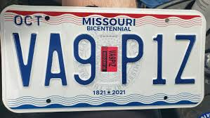 missouri license plate
