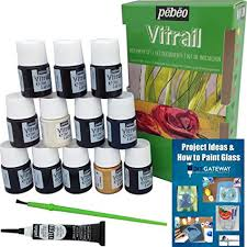 glass paint stain pebeo vitrail