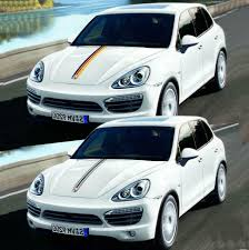 Graphics Side Skirt Stripe Car Sticker Auto Hood Vinyl Decal For Macan Cayenne