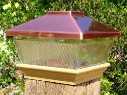Copper Top Solar Led Light 6 X 6 Post Caps For Bridges Fences Decks Posts Tjb Inc Online Store