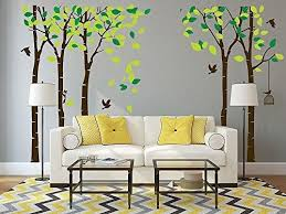 Anber Giant Jungle Tree Wall Decal Removable Vinyl Mural Art Wall Stickers Kids Room Wall Decor Family Tree Wall Sticker Kids Room Wall