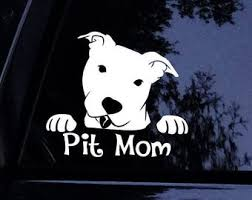 Pit Mom Decal Etsy