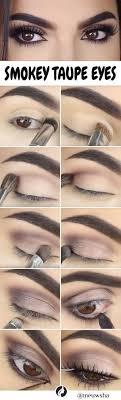 makeup tips tutorials smokey taupe