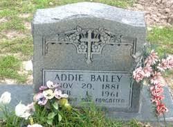 Addie McQueen Bailey (1881-1961) - Find A Grave Memorial