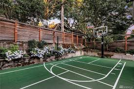 35 Backyard Courts For Different Sports Tennis Basketball Volleyball Etc