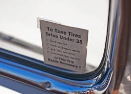 Gas Ration Stickers Cartype