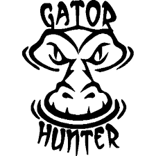 12 8cm 17 8cm Gator Hunter Vinyl Decal Gator Water Lake Alligator Car Stickers Car Styling Accessories Black Sliver C8 1087 Sticker Funny Sticker Kittysticker Accessories Aliexpress