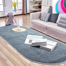 Nk Home 31 4 X 64 9 Inches 80 X 165cm Oval Fluffy Area Rug Non Skid Soft