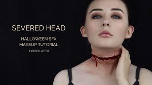 severed head sfx makeup