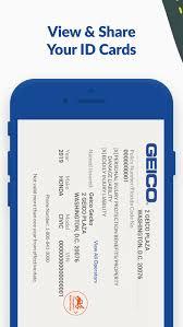 geico mobile car insurance app for