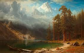 landscape photography of mounn