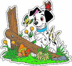 101 Dalmatians Couple Cartoon Car Bumper Sticker Decal Bumper Stickers