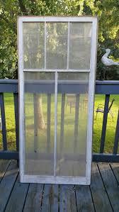 old wood window frame 5 pane