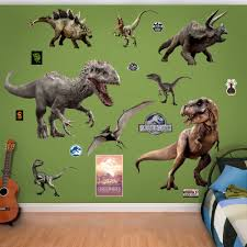 Fathead Nbc Universal Jurassic World Dinosaurs Peel And Stick Wall Decal Reviews Wayfair