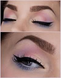 cute pastel eye makeup