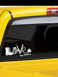 Love Army Car Decal Army Sticker Army Decal Army Laptop Decal Army Logo Decal Army Wife Love My So Army Love Quotes Military Life Quotes Car Decals